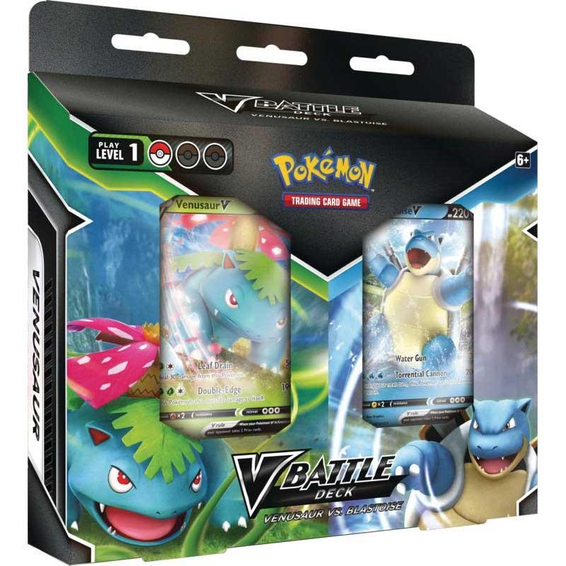Pokémon, Blastoise V & Venusaur V Battle Deck Bundle