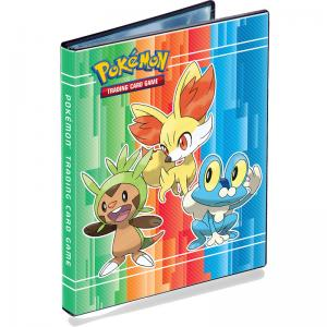 Pokémon, Portfolio binder A5 (Can hold 40 cards) X & Y (Chespin, Fennekin & Froakie) - 4 Pocket
