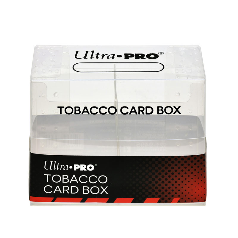 Tobacco Card Box (for small cards in tobacco size)