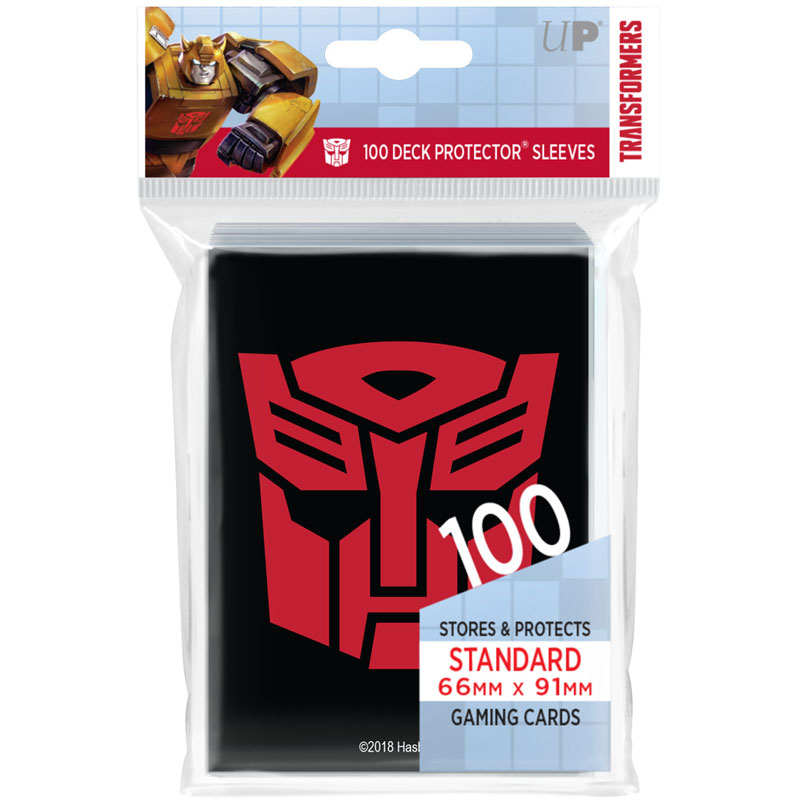 Transformers Autobots Deck Protector sleeves 100ct for Hasbro