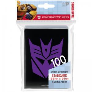 Transformers Decepticons Deck Protector sleeves 100ct for Hasbro