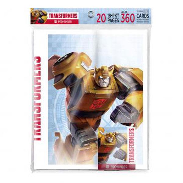 Transformers PRO Binder for Hasbro - 9 Pocket
