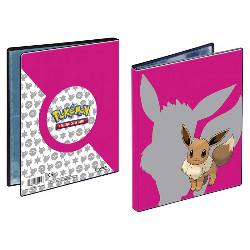 Pokemon, Portfoliopärm A5 (Rymmer 40 kort) Eevee 2019 - 4 Pocket