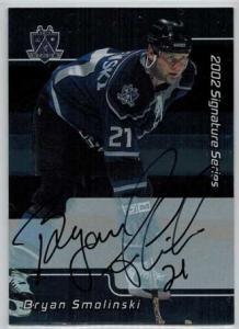 Bryan Smolinski 2001-02 BAP Signature Series Autographs #134