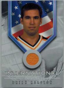 Brian Rolston 2001-02 BAP Signature Series International Medals #IS8
