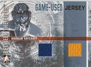 Andrew Raycroft 2006-07 Between The Pipes Jerseys Gold #GUJ53