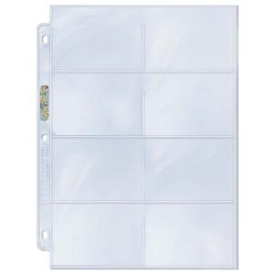 "8-Pocket Platinum Page with 3-1/2"" X 2-3/4"" [8.89 x 6.985cm] Pockets"