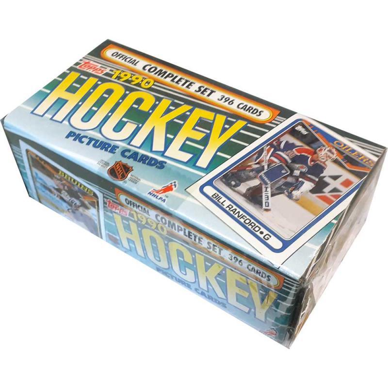 1990-91 Topps Hockey Factory Set