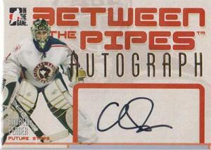 Andrew Penner 2006-07 Between The Pipes Autographs #AAP