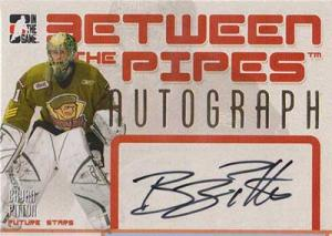 Bryan Pitton 2006-07 Between The Pipes Autographs #ABPI