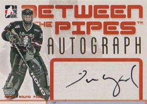 Cam Ward 2006-07 Between The Pipes Autographs #ACW