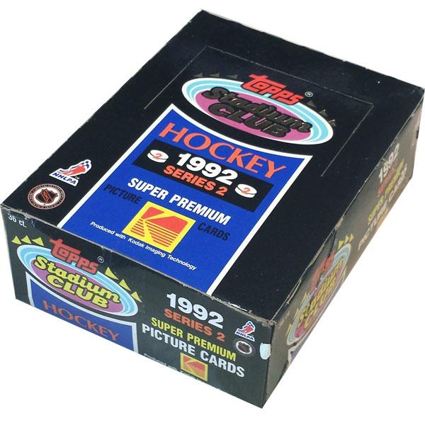 Full Box 1992-93 Topps Stadium Club series 2