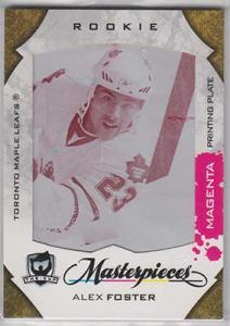 Alex Foster 2008-09 The Cup Printing Plates SPx Magenta #126 1/1