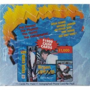 Sealed Box 1995 Signature Rookies Auto-Phonex