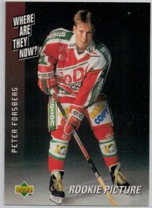1995-96 Swedish Upper Deck #234 Peter Forsberg