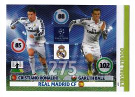 Double Trouble, 2014-15 Adrenalyn Champions League, Cristiano Ronaldo / Gareth Bale