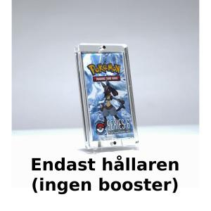Magnet Booster Case X 1 - 4mm Clear Acrylic + stand - Legendary Card Collector (Ingen booster ingår)