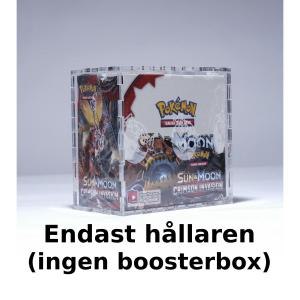 Booster Box Case 4mm Clear Acrylic - Legendary Card Collector (Ingen Booster Box ingår)