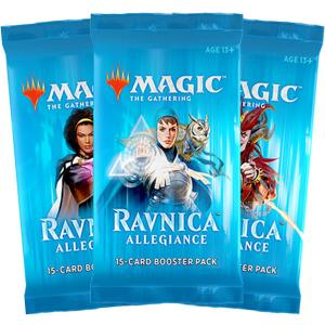 Magic, Ravnica Allegiance, 3 boosters