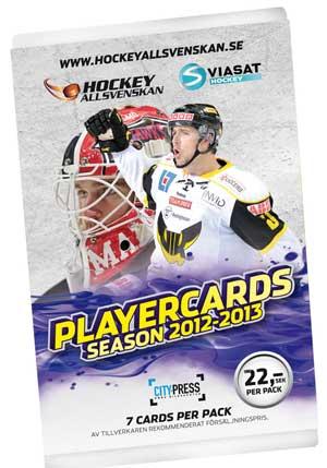 1 Pack 2012-13 Hockeyallsvenskan