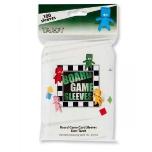Board Game Sleeves, 70mm X 120mm Tarot Card (100 sleeves) [Arcane Tin Men]