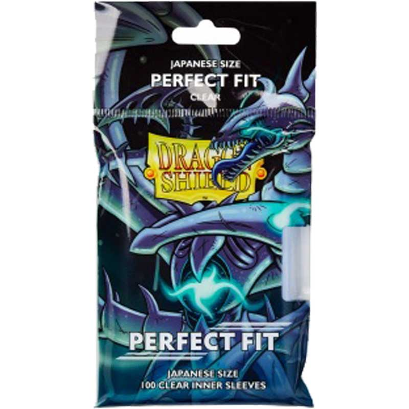 Dragon Shield JAPANESE Size Perfect Fit Inner Sleeves [For Yu-Gi-Oh cards]