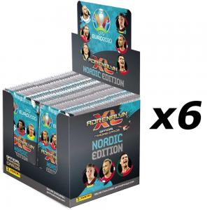 1st Case (300 paket), Nordic Edition Panini Adrenalyn XL Euro 2020