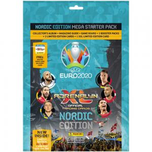 1st Mega Starter Pack, Nordic Edition Panini Adrenalyn XL Euro 2020