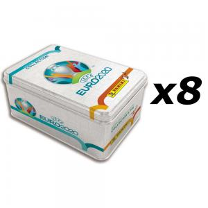 8st Mega Tin, Nordic Edition Panini Adrenalyn XL Euro 2020