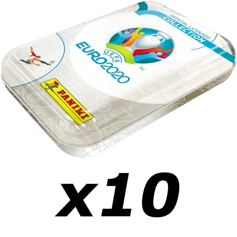 10st Pocket Tin, Nordic Edition Panini Adrenalyn XL Euro 2020