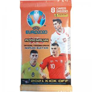 1 Pack, Nordic Edition Panini Adrenalyn XL Euro 2021 KICK OFF