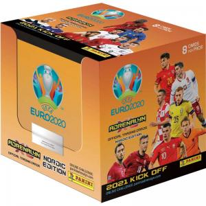 1 Box (50 packs), Nordic Edition Panini Adrenalyn XL Euro 2021 KICK OFF