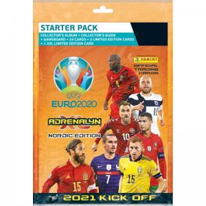 1 Mega Starter Pack, Nordic Edition Panini Adrenalyn XL Euro 2021 KICK OFF