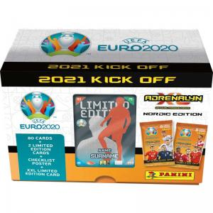 1 Gift Box, Nordic Edition Panini Adrenalyn XL Euro 2021 KICK OFF