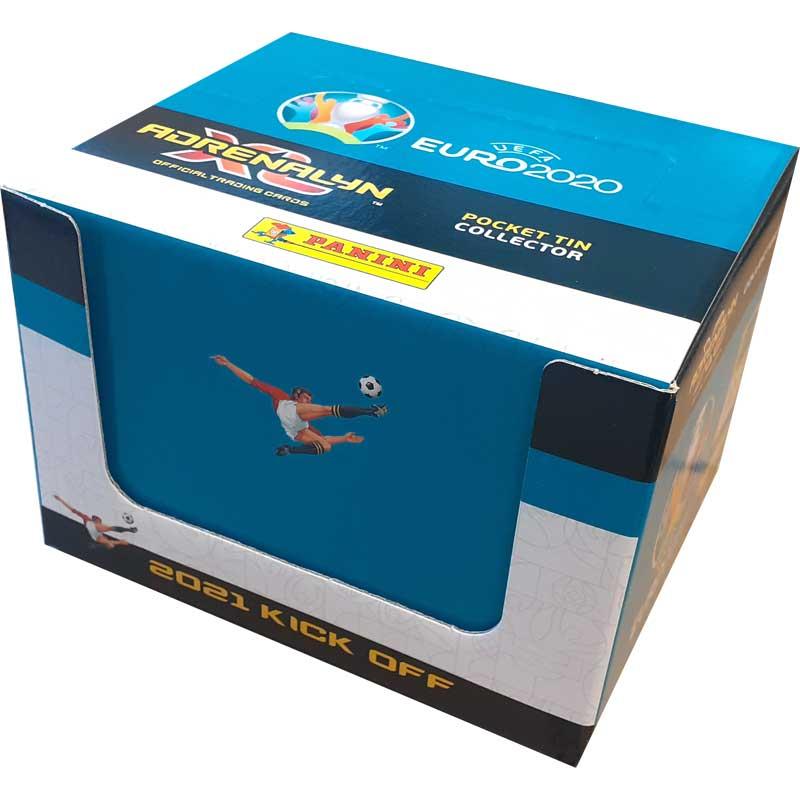 10st Pocket Tin, Nordic Edition Panini Adrenalyn XL Euro 2021 KICK OFF