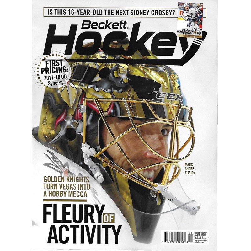 Beckett Hockey, #05 2018, May (Fleury of Activity)