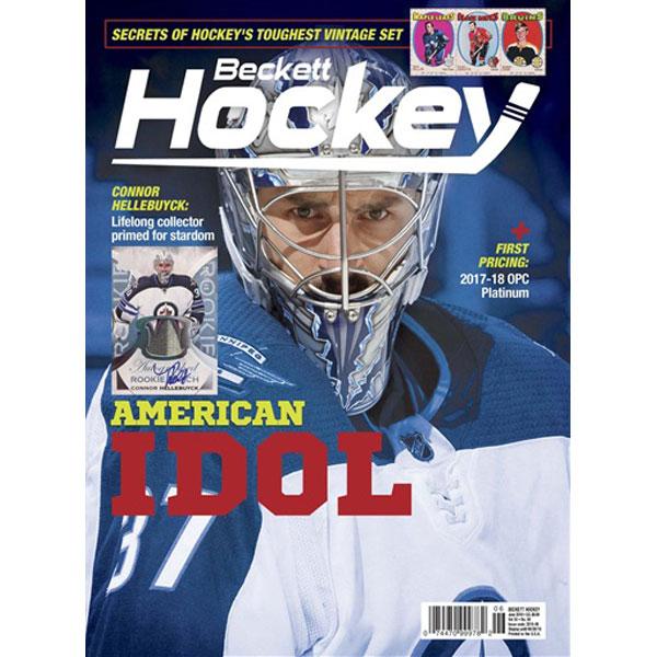 Beckett Hockey, #06 2018, June (American Idol)
