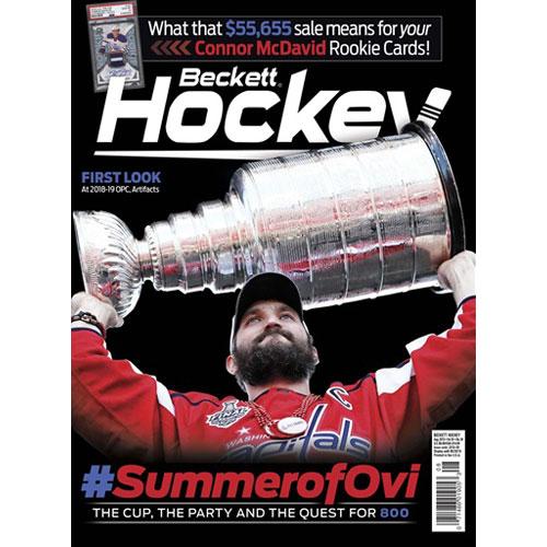 Beckett Hockey, #08 2018, August (#SummerofOvi)