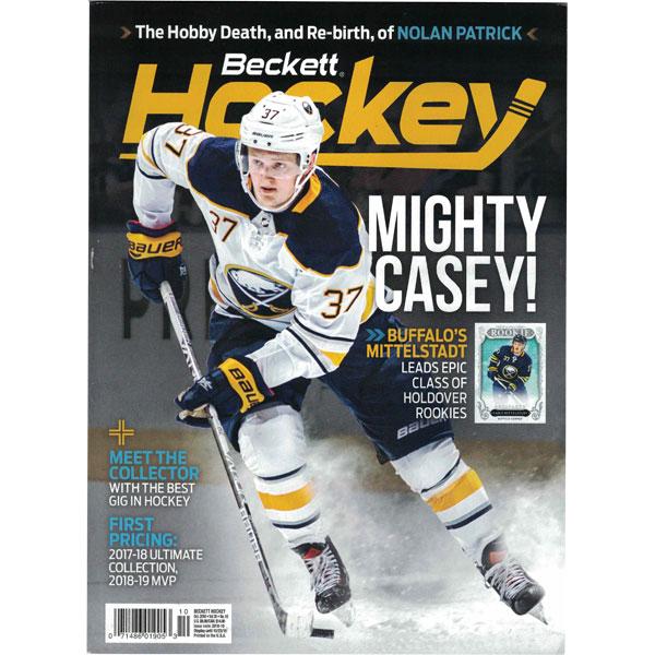 Beckett Hockey, #10 2018, October (Mighty Casey!)