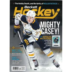 Beckett Hockey, #10 2018, October (Mighty Casey!)