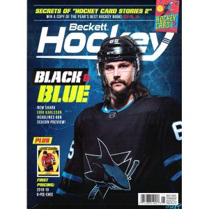 Beckett Hockey, #11 2018, November (Black & Blue, Erik Karlsson)