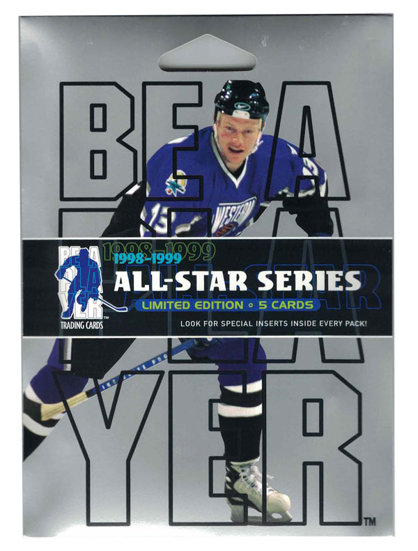 1 Pack 1998-99 Be A Player All-Star Edition Series 1 Hobby