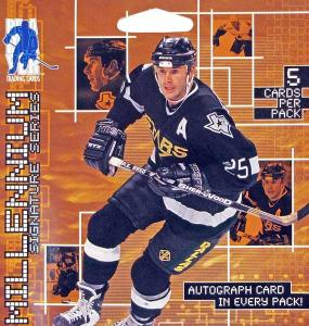 1st Paket 1999-00 ITG Be A Player Signature Series Millennium Hobby