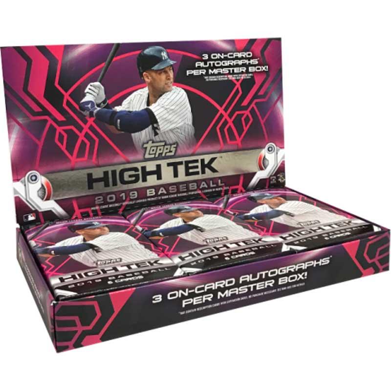 Hel Box 2019 Topps High Tek Baseball