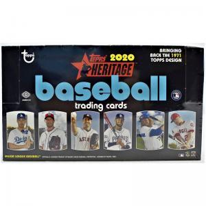Sealed Box 2020 Topps Heritage Baseball Hobby