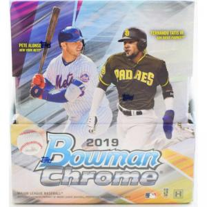 Hel Box 2019 Bowman Chrome Baseball Hobby