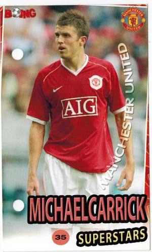 Michael Carrick Boing Superstars #35 - Lite slitet