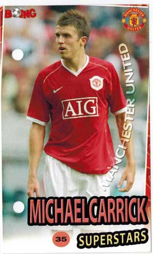 Michael Carrick Boing Superstars #35 - Lite slitet