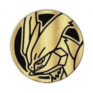 Pokémon, Coin, Black & Gold Clear White Kyurem