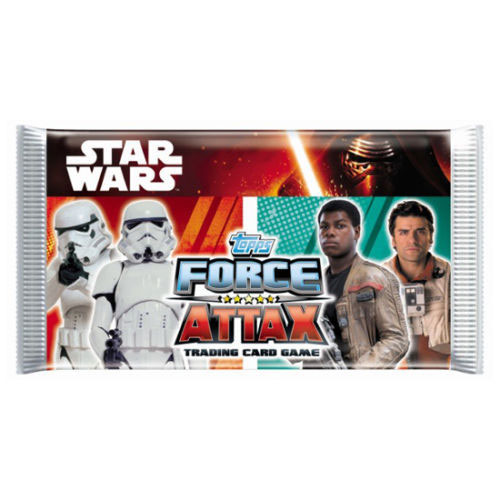 Paket, Star Wars Force Attax - The Force Awakens